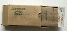 VINTAGE COCA-COLA COKE ADVERTISING WORLD OF NATURE STUDY CARDS IN BOX