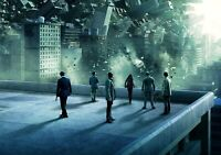 INCEPTION Movie PHOTO Print POSTER Textless Film Art Christopher Nolan 002
