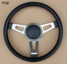Grant 3 Spoke Tuff Black Steering Wheel without installation kit