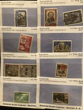 Lot Of Russia Stamps Mint Never Hinged