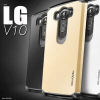 LG V10 Case, Evocel Dual Layer Armor Raised Lip Protector Case