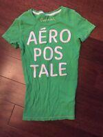 Aeropostale Girl Top Size Small Green