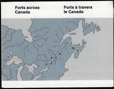 Canada Stamps — Booklet Pane of 10 in Cover -Canadian Forts-1 #992a (BK86) — MNH