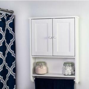 Ktaxon Bathroom Wall Cabinet Mount Hanging Storage Shelf Organizer