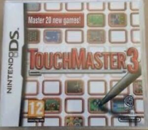 Touch Master 3 - Nintendo DS Game. Complete with manual. Fast Dispatch.  VGC !!