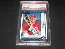 ADAM DUNN REDS 1999 BOWMAN 369 ROOKIE MLB LEGEND AUTHENTIC CARD PSA MINT 9