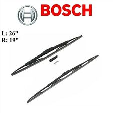 2PCS BOSCH FRONT D-Connect WiperBlade For TOYOTA PRIUS 10-15/PRIUS PLUG-IN 12-15