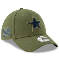 2018 Dallas Cowboys New Era 39THIRTY NFL Salute To Service Sideline Cap Hat