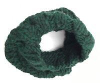 EUGENIA KIM 133751 Women's 'Brooke' Green Wool Knit Cowl Scarf Wrap