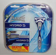 Wilkinson Hydro 5 Nassrasierer Rasierer + 5 Rasierklingen