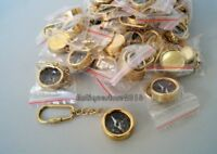Vintage Brass Marine Compass Key Chain Nautical Collectible Lot Of 100 Pcs Gift