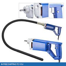 Concrete Vibrator Air Bubble Remover Concrete Leveler 3/4 Hp 13000 Vpm Lock On