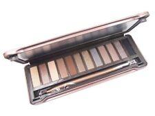 Makeup Eye Shadow Eyeshadow shimmer metallic set Palette Brush 12 Color #3