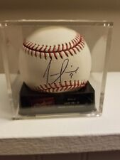 JUAN PIERRE SWEET SPOT  AUTOGRAPHED OFFICIAL MAJOR LEAGUE BASEBALL