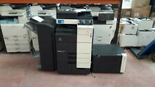 More details for konica minolta c754e with booklet finisher 325k page count!