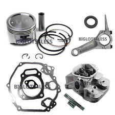 HONDA GX390 13HP CYLINDER HEAD ASSEMBLY ROCKERS PISTON ROD GASKET ENGINE KIT NEW
