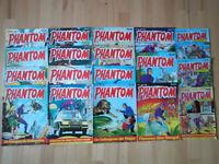 Phantom + Phantom spezial - Konvolut 18 Kriminal-Comichefte BASTEI Lee Falk