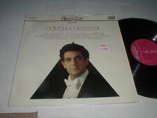 Placido Domingo VERDI Italy RCA LP Half Speed Mastering Opera Orchestra Symphony