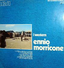 OST WESTERN  DI MORRICONE LP BUONO IL BRUTTO E IL CATTIVO - IL RITORNO DI RINGO
