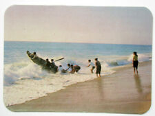 FISHERMAN GOING TO SEA PORTUGAL POCKET CALENDAR CARD