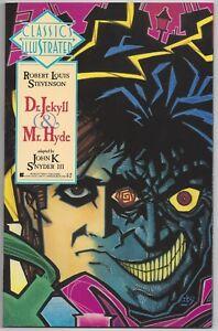 Berkley First Classics Illustrated #8 - Dr Jekyll & Mr Hyde by RL Stevenson  NEW