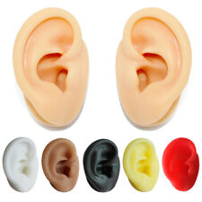1:1 Human Ear Model for Hearing Aid Silicone Ear Model Practice Piercing Tools