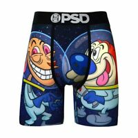 PSD Underwear Ren & Stimpy Space Mens Boxer Briefs High Quality No Ride Up Sport
