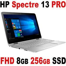 "NEW HP Spectre 13 Pro G2 x360 13.3"" FULL HD Touch 3.0Ghz 8GB SSD Windows 10 Pro"