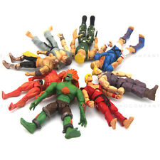 Lot 8pcs JAZWARES STREET FIGHTER Collection 4in. ACTION FIGURE Boy Kid Toy Gift