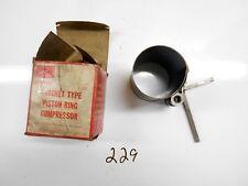 "Sears Craftsman Ratchet Type Piston Ring Compressor 94716 Adjusts 2 1/8 to 5"""