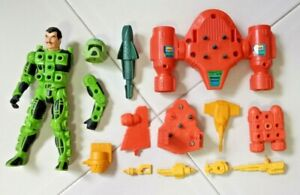 Vintage Kenner Centurions Max Ray With Weapons And Accessories