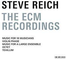 Steve Reich - Steve Reich - The ECM Recordings [New CD]
