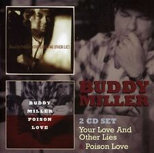 Buddy Miller - Your Love & No Other Lies / Poison Love [New CD] UK - Import