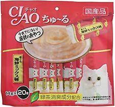 CIAO Churu( Stick type cat snack )14g 20Sticks Tuna seafood mix