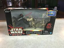 1998 Hasbro Star Wars Episode I TATOOINE SHOWDOWN Figure Set MIB