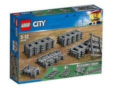 LEGO City 60205 gerade gebogene flexible Schienen Train Tracks Rails N9/18