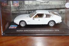 IXO / ALTAYA 1/43eme MATRA SIMCA BAGHEERA COURREGES de 1976 COMME NEUF EN BOITE