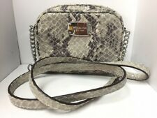 Auth MICHAEL KORS Gray DarkGray Patent Leather (Synthetic Leather) Fake Suede