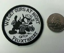 Felix The Cat  Sew on patch - GET IT AT NIGHT