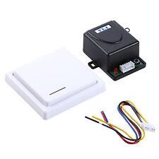NO/NC/COM Contact 1CH DC12V Wireless RF Remote Control Switch F/ Access Control;