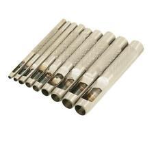 Locheisensatz 15teilig Locheisen Satz Set 2-22mm Bohrer DIY Werkzeug Leder N723