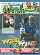 GUERIN SPORTIVO-1990 n.3- MATTHAUS -FILM C.-ENCICLOPEDIA MONDIALE-NO POSTER