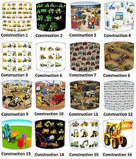 Children`s Lampshades Ideal To Match Boys Truck Digger Wallpaper JCB Next Duvet
