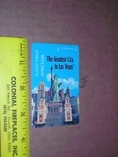 Slot Players Card Resorts World Casino New York City Statue Liberty city lady