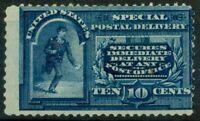 Vereinigte Staaten 1885 Sc. E4 Ungebraucht * 100% Messenger Lauf