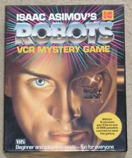 Isaac Asimov's Robots VCR Mystery Game - 1988 - complete