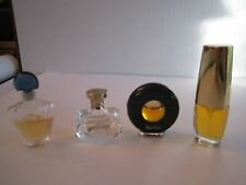 PICASSO, BULGARI, GUERLAIN & ESTEE LAUDER BEAUTIFUL PERFUMES - LOT 4 - TUB P