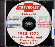 1967-1972 Chevrolet Truck Parts Catalog CD Pickup Suburban Blazer Van Cheyenne