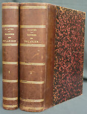 CZAPEK- BIOCHEMIE DER PFLANZEN -ANZUG 2 BAND -1905 FISCHER 1st edition Botanique