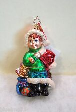 Christopher Radko Ornament In From The Cold #1011263 New With Tag (Rl2)
